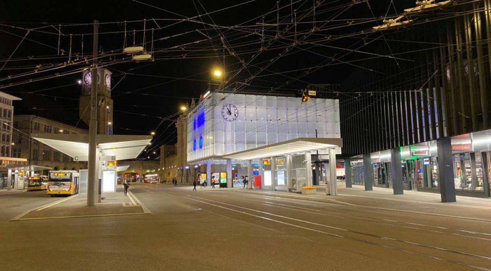 Polizeieinsatz in St.Gallen: 90 Personen weggewiesen