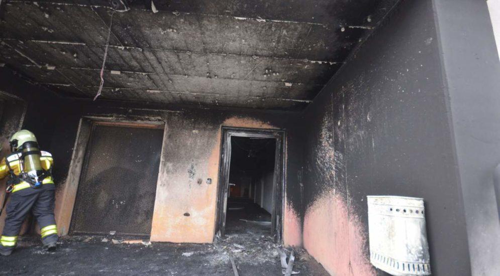 """Brand in Biberist SO: Massiver Schaden an der Sporthalle """"Bleichematt"""""""