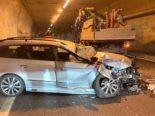 Unfall Filzbach GL: Auf A3 in Lastwagen gecrasht