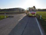 Unfall in Gunzgen: Velofahrer prallt in Lastwagen