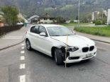 Näfels GL: Unfall zweier Autos