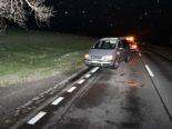 Unfall Chur GR: Fussgänger von PW erfasst und zu Boden geworfen