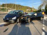 Unfall Liestal BL - Heftige Kollision