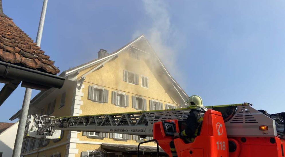 Spreitenbach AG: E-Scooter-Akku führt zu Wohnungsbrand