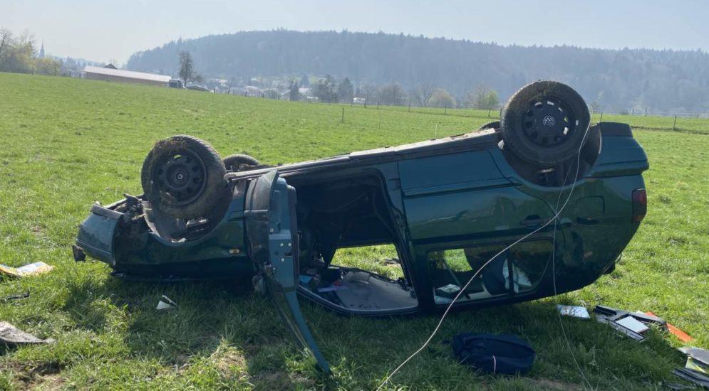 Unfälle Villmergen, Aarau, Sins: Golf-Fahrer (17) alkoholisiert am Steuer