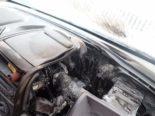 Weinfelden TG: Lieferwagen-Totalschaden nach Brand