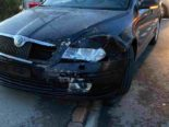 Reinach AG - Unfall wegen Missachtung von Rotlicht