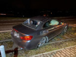 Zufikon: BMW-Junglenker (18) baut Unfall und gerät auf Gleise