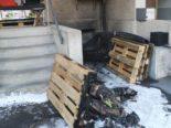 Amriswil TG: Brand bei Einkaufszentrum
