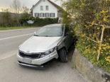 Leimbach AG: Frau baut Unfall wegen Sekundenschlaf