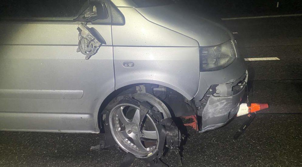 Suhr AG: Betrunken Unfall auf der A1 gebaut