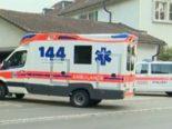 Unfall Luzern LU: Fußgänger nach Kollision mit PW erheblich verletzt