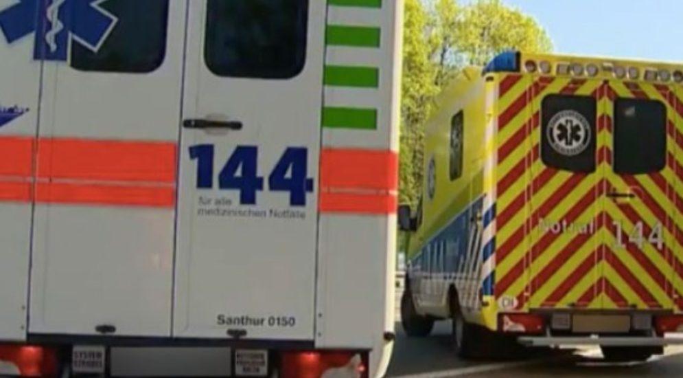 Unfall Lachen SZ: E-Bikefahrer (21) lebensbedrohlich verletzt