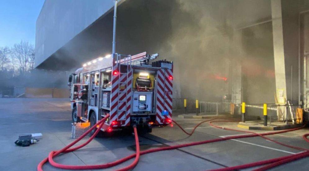 Bern: Bunkerbrand in der Kehrrichtverbrennungsanlage
