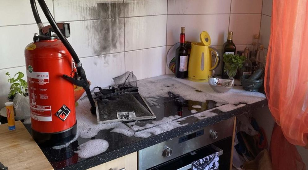 Birsfelden BL: Brand in Küche eines Mehrfamilienhauses