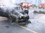 Gossau SG: Totalschaden nach Brand von Auto