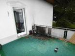 Diepoldsau SG: Feuer auf einem Balkon