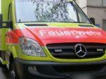 Ebikon LU - Mann nach Brand ins Spital gebracht