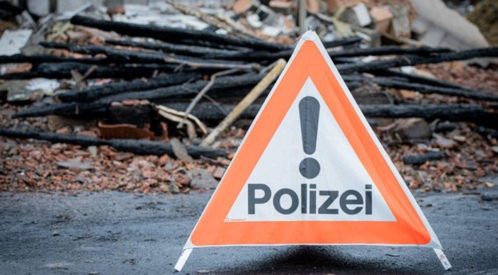 Attinghausen UR: Kehricht in Brand geraten