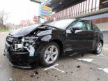 St.Gallen SG - Verletzte nach Unfall