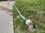 Ehrendingen AG: Mit 1 Promille Unfall gebaut