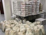 Basel: Zwei Tonnen unverzollte Lebensmittel und Zigaretten sichergestellt