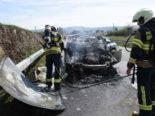 Steinach SG: Auto in Flammen - Mutter und Tochter (2) unverletzt
