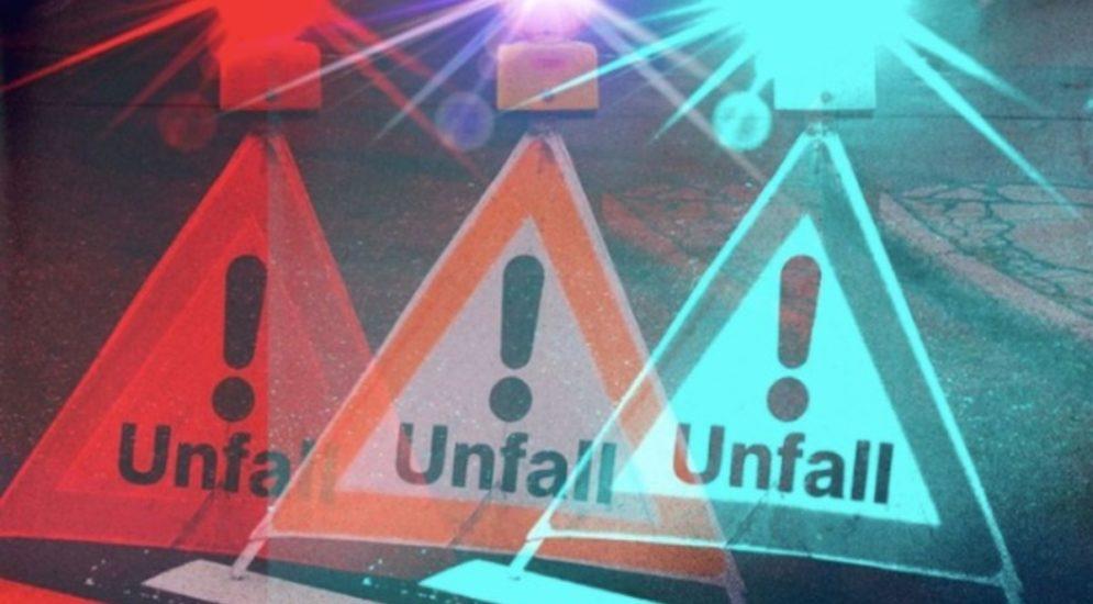 Wilchingen SH: Auto landet nach Unfall auf dem Dach