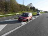Unfall A1 Rorschacherberg SG: 86-Jährige verliert Kontrolle über Auto