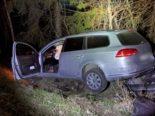 Unfall Spiringen UR: Lenkerin gegen grossen Kolonnenstein geprallt