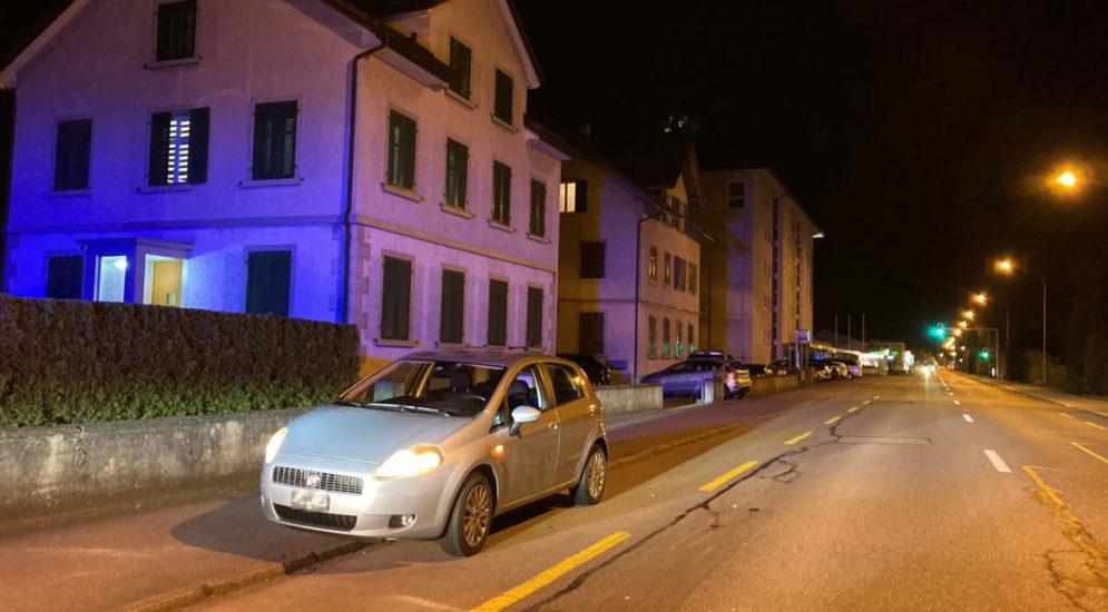 Wil SG: Wütender Mercedes-Fahrer traktiert 46-Jährigen mit der Faust