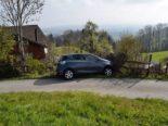 Walzenhausen AR: Bei Unfall in Gartenzaun und Stützmauer geprallt