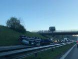 Villars-sur-Glâne FR: Autobahn A12 wegen eines Unfalls gesperrt