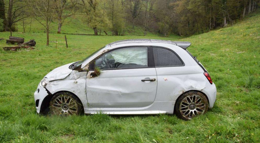 Unfall Himmelried SO: Auto überschlägt sich mehrfach