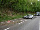 Bei Unfall in Schnottwil SO: Auto überschlägt sich mehrfach