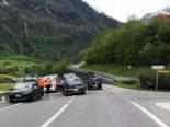 Mitlödi GL: Verkehrsbehinderungen wegen eines Unfalls