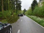 Heftiger Unfall Boningen SO - Erheblich verletzter Lenker und Totalschaden