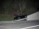 Beinwil SO: Junglenker (18) kollidiert bei Unfall mit Mauer