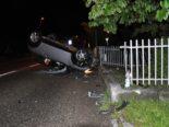 Grenchen SO: Auto landet bei Unfall auf Dach - Lenkerin (19) verletzt