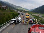 Unfall Rabius GR: Frontalkollision fordert Todesopfer