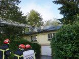 Kaminbrand in Corminboeuf FR