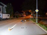 Heiden AR: Motorrad-Lernfahrer (16) bei Unfall verletzt