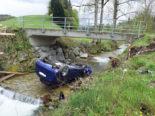 Unfall Hergiswil bei Willisau LU - Beifahrerin (18) in Spital geflogen