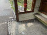 Densbüren AG: Vandalen wüten bei Busshaltestelle