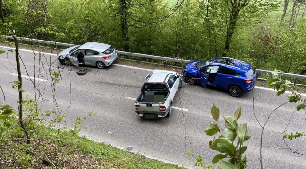Unfall Rheinfelden AG: Frontalkollision fordert drei Verletzte