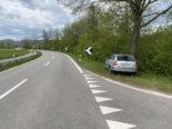 Unfall Scherz AG - Nach Ausweichmanöver in Baum geprallt