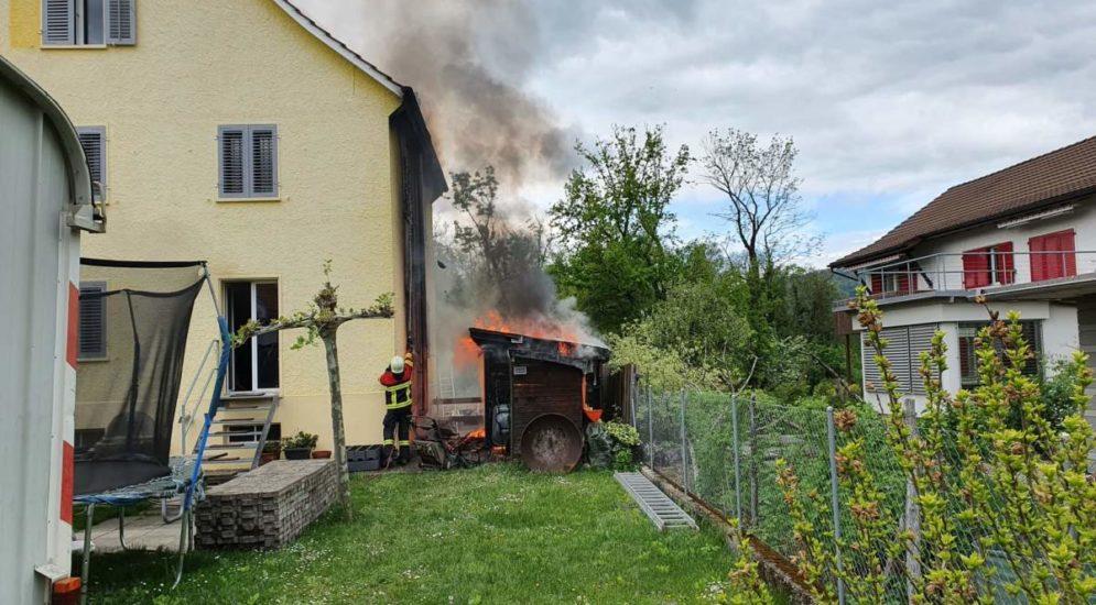 Aarau AG: Zwei Brände unter Kontrolle gebracht