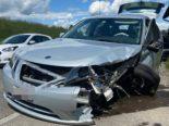 Unfall Aristau AG: Zwei Verletzte nach Frontalkollision