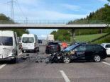 Aargau: Mehrere Unfälle auf der Autobahn A1