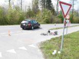 Unfall Balgach SG - Velofahrer verstorben